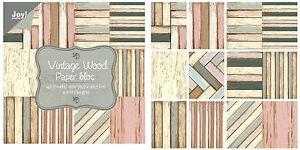 Spring 6011//0308-24 Sheets Joy Crafts Paper Bloc 15cm x 30cm