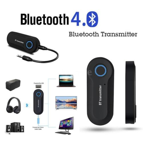 Wireless Car Home Bluetooth Receiver 3.5mm AUX Music Stereo HiFi Audio Adapter