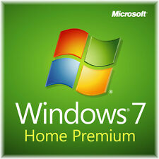 Windows 7 Home Premium 32 Bit.  New system builder edition.