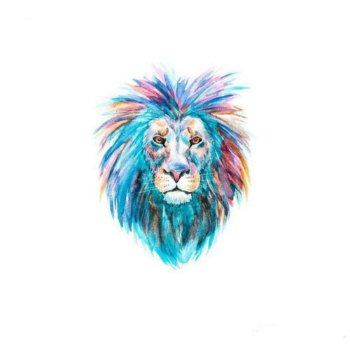 Lion Horse Heart Clothes Patches Heat Transfer DIY Printing Iron On Appliques