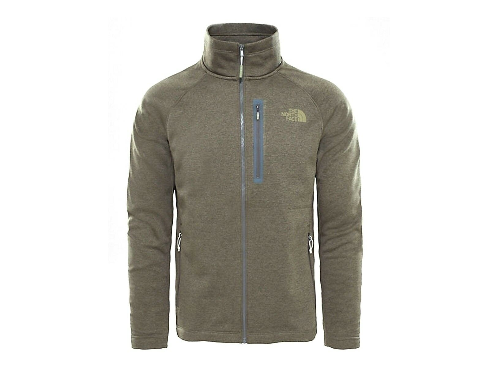 GIACCA UOMO THE NORTH FACE INVERNO 2ZVV7D0  CANYONLANDS NEW TAUPE verde HEATHER