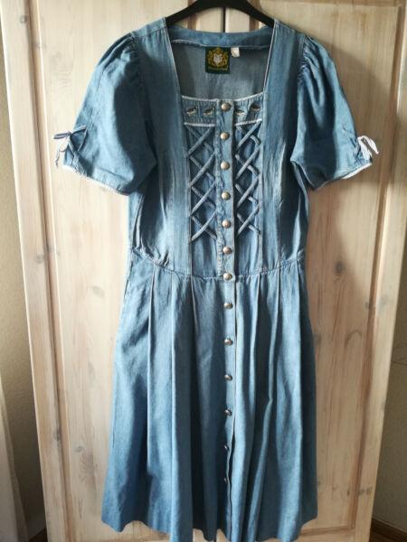 Damen Kleid Trachten Größe 40 Blau Von Hammerschmid Douceur AgréAble
