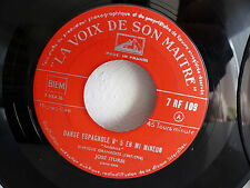 JOSE ITURBI Danse espagnole N°5 N° 10 VDSM 7RF109