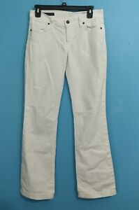 Womens-Citizens-Of-Humanity-Kelly-001-White-Jeans-Boot-Cut-Low-Stretch-Size-28