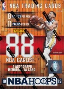 2018-19-Panini-NBA-Hoops-Basketball-Cards-Pick-From-List-1-150-Free-Shipping