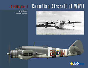 Canadian-Aircraft-of-WWII-AviaDossier-softcover-photos-amp-many-colour-profiles