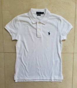 Women-039-s-Ralph-Lauren-Skinny-Fit-White-Polo-MSRP-100-Authentic-BNWT-70