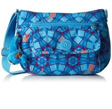 Genuine Kipling SYRO shoulder xbody handbag MONKEY SUMMER BLUE (BNWT) rrp£74