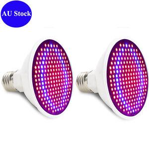 2Pcs-20W-E27-LED-Grow-Light-Lamp-Bulb-Flower-Hydroponic-Plant-Garden-Red-Blue