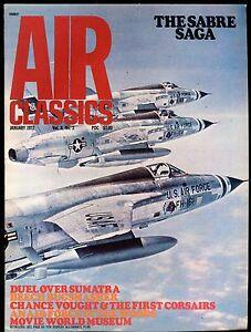 Air Classics Magazine January 1972 The Sabre Saga EX No ML 120716jhe
