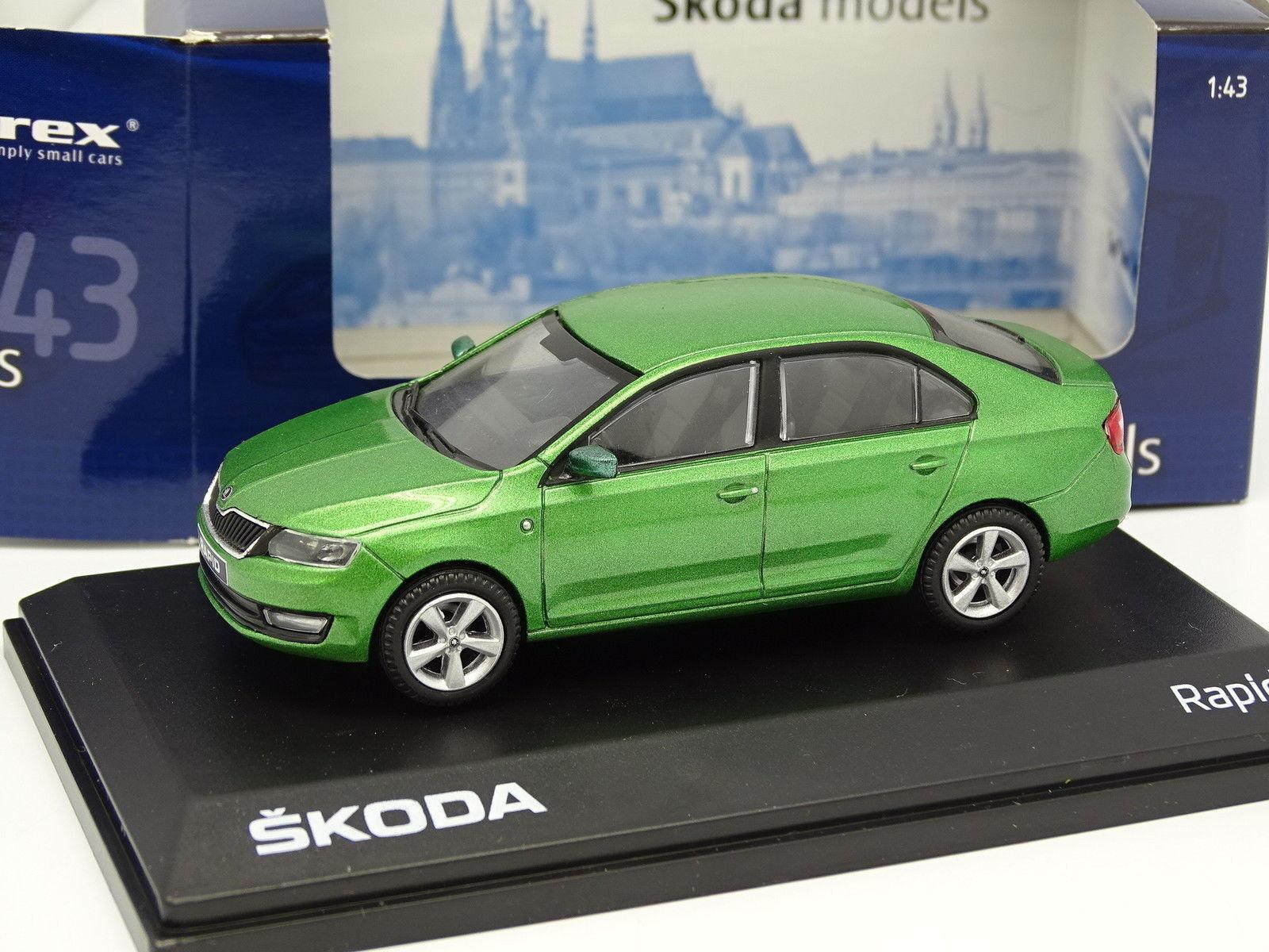 Abrex 1 43 - Skoda Rapid green