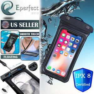 Dettagli su GALLEGGIANTE Impermeabile Borsa Custodia Custodia subacquea per iPhone 11 Max XS Pro 8 PLUS SE- mostra il titolo originale