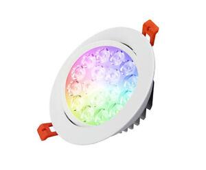 MI-LIGHT-FARETTO-DA-INCASSO-LED-SPOT-9W-700LM-15-RGB-CCT-WIFI-FUT062