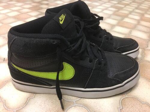 Vintage vintage Nike ante 5 Zapatillas alto Blazer negro Mens Uk deporte de 5 de q1xgSq
