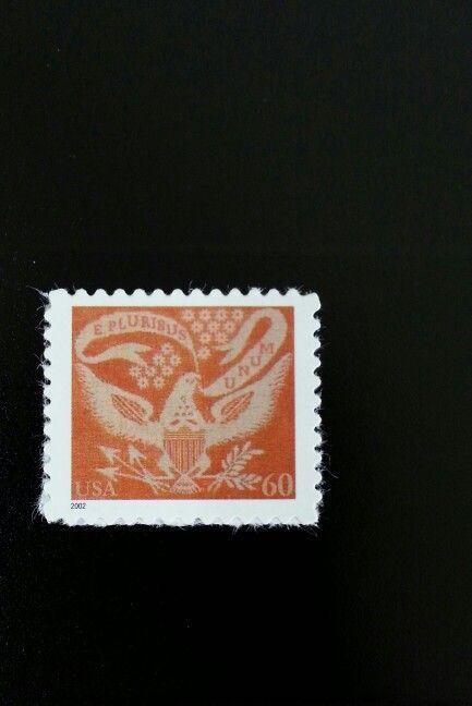 2002 60c Coverlet Eagle Scott 3646 Mint F/VF NH
