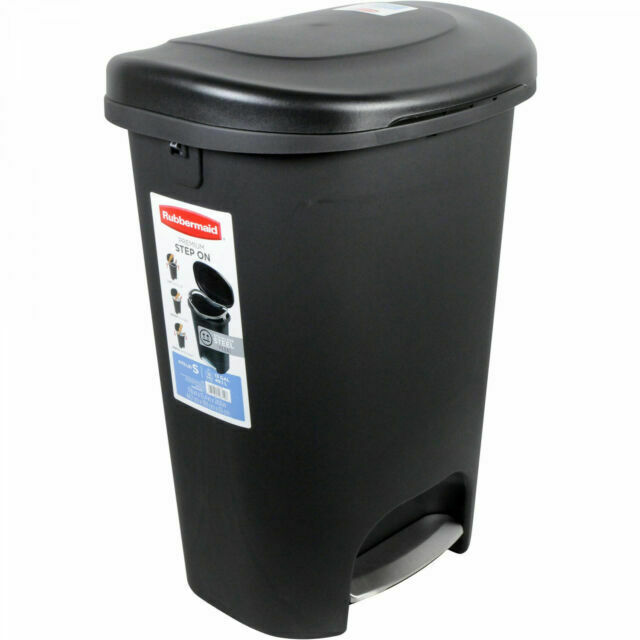 Rubbermaid 1843029 13 Gal Trash Can For Sale Online Ebay