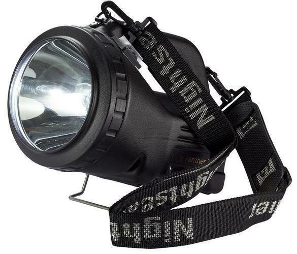Night Searcher - PANTHER XHP - Rechargeable Led Searchlight, 1500lm 1200m Beam
