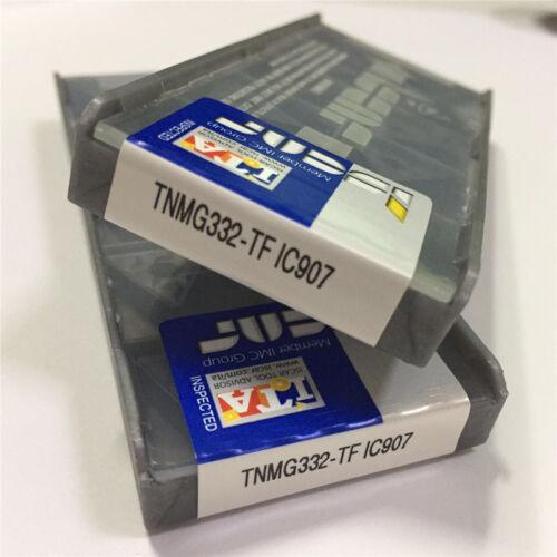 20pcs ISCAR TNMG160408-TF IC907 TNMG332-TF Carbird Inserts Free shipping 2pack