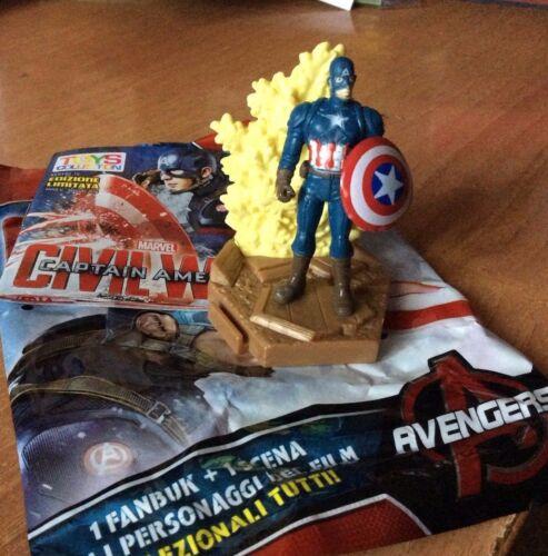 CAPTAIN AMERICA CIVIL WAR  3D PVC MARVEL 2016 GAMESHOP CAPITAN