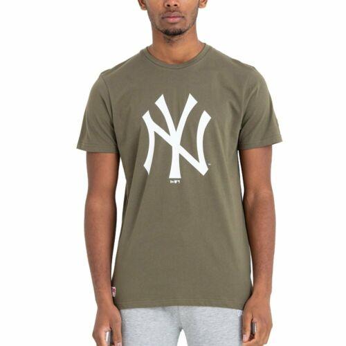 New Era Basic Shirt MLB New York Yankees oliv