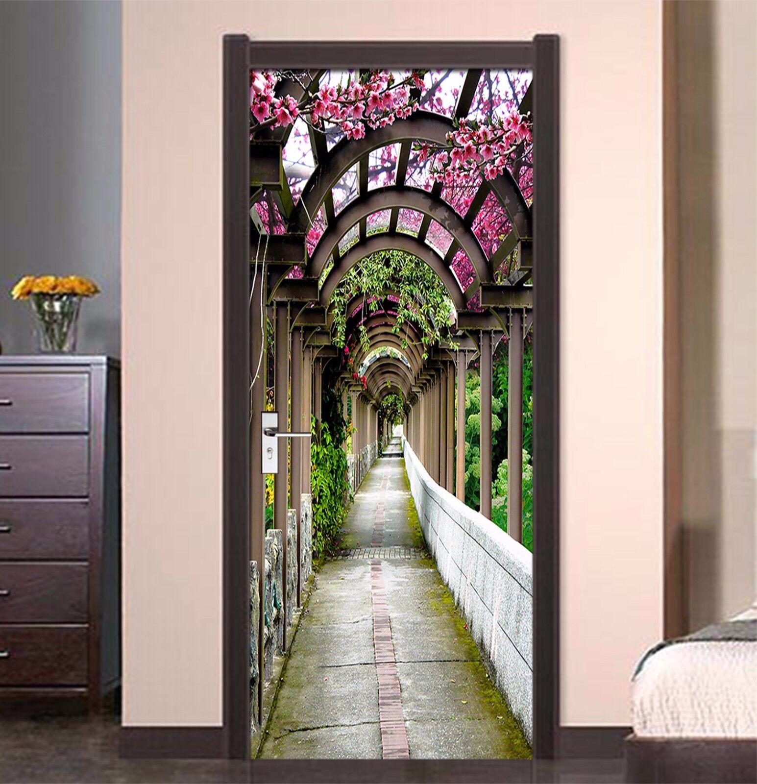 3D Bogen 752 Tür Wandmalerei Wandaufkleber Aufkleber AJ WALLPAPER DE Kyra