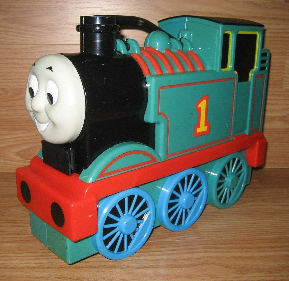 Take Along Thomas & Friends Friends Friends - Travel Tote w  Incomplete Vehicle Set USED cf510e