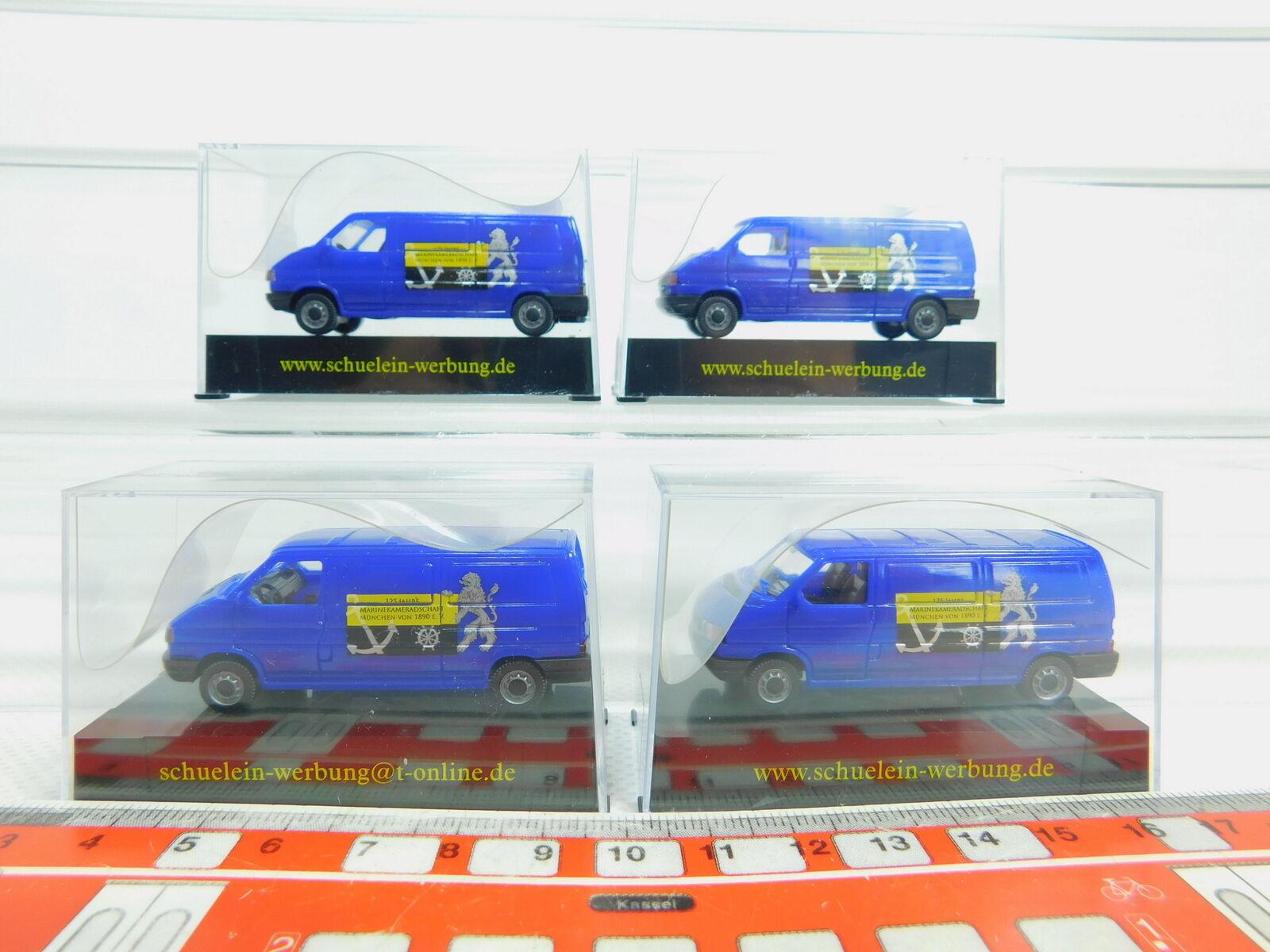 BN131-0, 5 x AWM  ( Amw ) H0   1 87 Transporter VW Marinekameradschaft, Nip