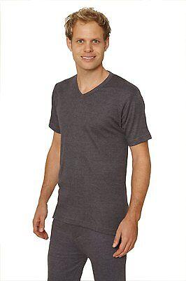 Octave 12 Pack Mens Thermal Underwear Short Sleeve V-Neck T-Shirt//Vest//Top