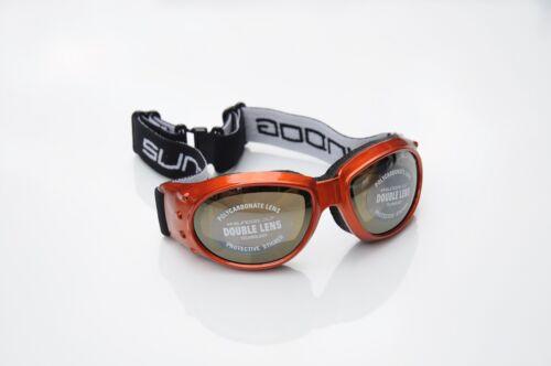 Sundog 84003 dog pound double lentille goggles-orange//or