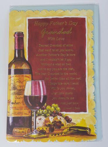 Best Dad Adorable Père/'S Jour Carte-Papa-Grand-Père 13.5 cm x 21 cm 0132