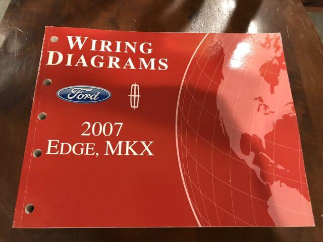 2007 Ford Edge  U0026 Lincoln Mkx Oem Wiring Diagram