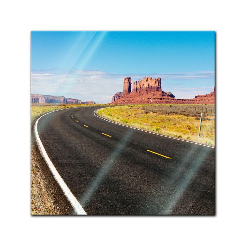 Immagine di vetro-Paesaggio di di di montagna 9a62b9