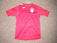 England Extra Large Boys 12/13 Yrs 158cm Away Football Shirt