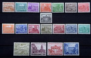 BERLIN-Bauten-Serie-1949-tadellos-Postfrisch-Hoechstwerte-geprueft-Schlegel-BPP