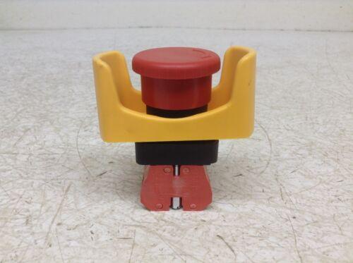 Automation Direct ECX 1030 Red Push Twist Button w// Guard ECX1030 ECX