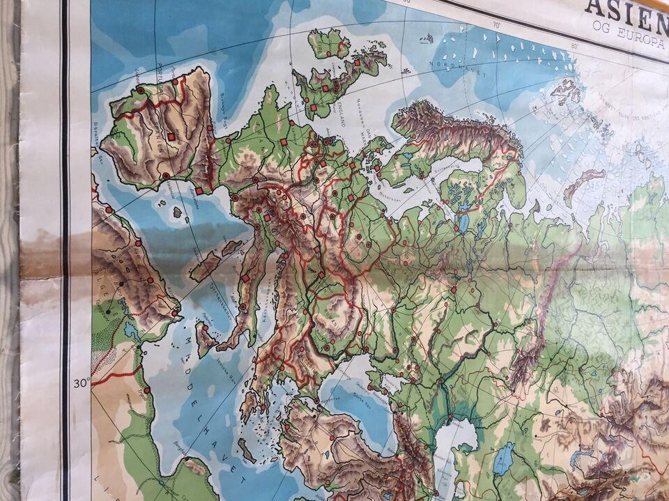 Landkort, Skolekort