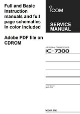 Icom IC-7300 Full SERVICE Manual Full Color IC7300