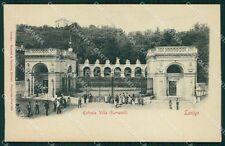 Vicenza Lonigo Villa Giovanelli cartolina QT2469