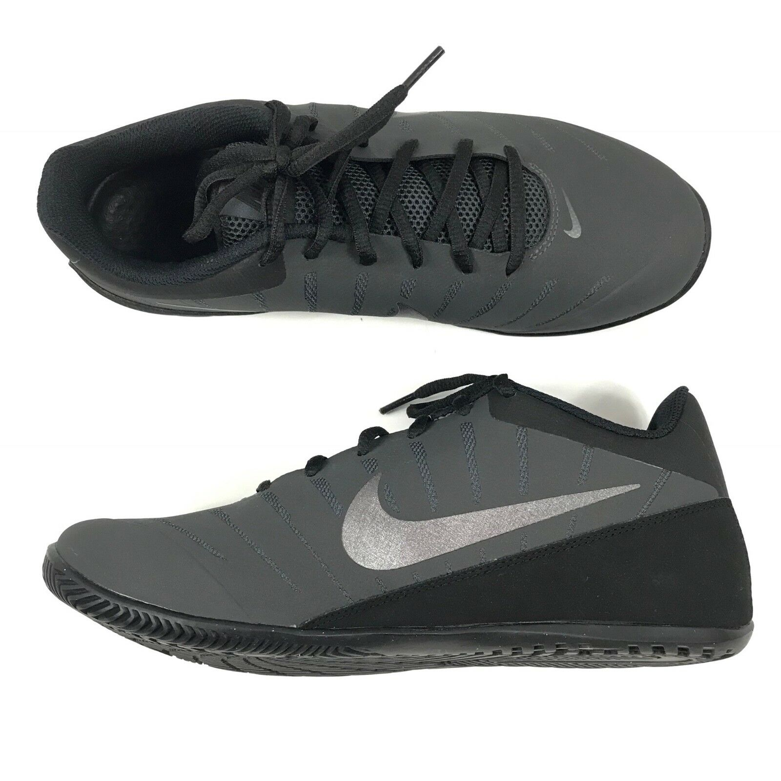 huge selection of c1780 e9790 ... Nike Mens Air Marvin Low Low Low 2 Basketball Shoes Anthracite Black Sz  7.5 830368- ...