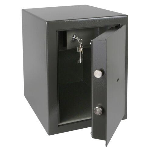 HMF Tresor Safe Wertschutzschrank Sicherheitsstufe B VDMA Safe 24992 43400-1111