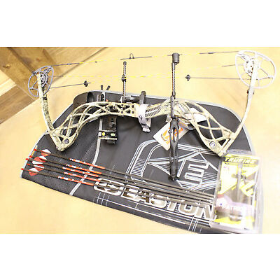 New Diamond Deploy SB Compound Bow Package Right hand 70lbs Free Case & Arrows