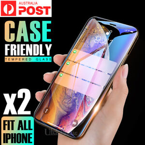 2X-Tempered-Glass-Screen-Protector-For-Apple-iPhone-6s-6-7-8-PLUS-X-XR-XS-Max-5