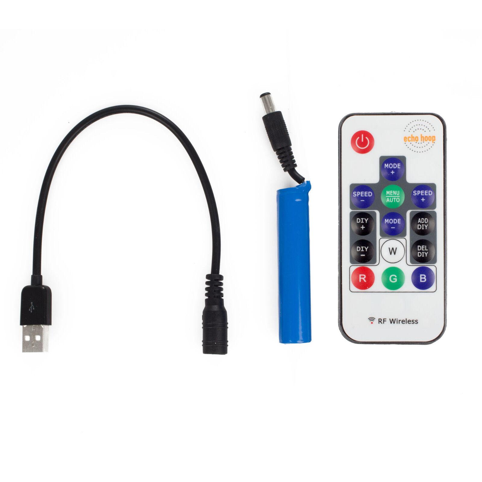 Echo Pro DEL HULA HOOP-contrôle HOOP-contrôle HOOP-contrôle à distance, rechargeable, pliable - 84 DEL a0a71f