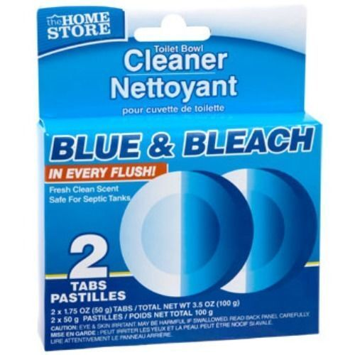 2 Automatic Blue Bleach Toilet Bowl Tank Cleaning Tablets Cleaner Best Er Ebay