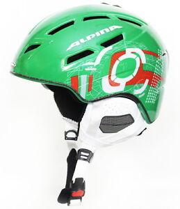 alpina-CHIEF-TEN-10-Skihelm-Snowboardhelm-green-orange-Helm-Wintersporthelm