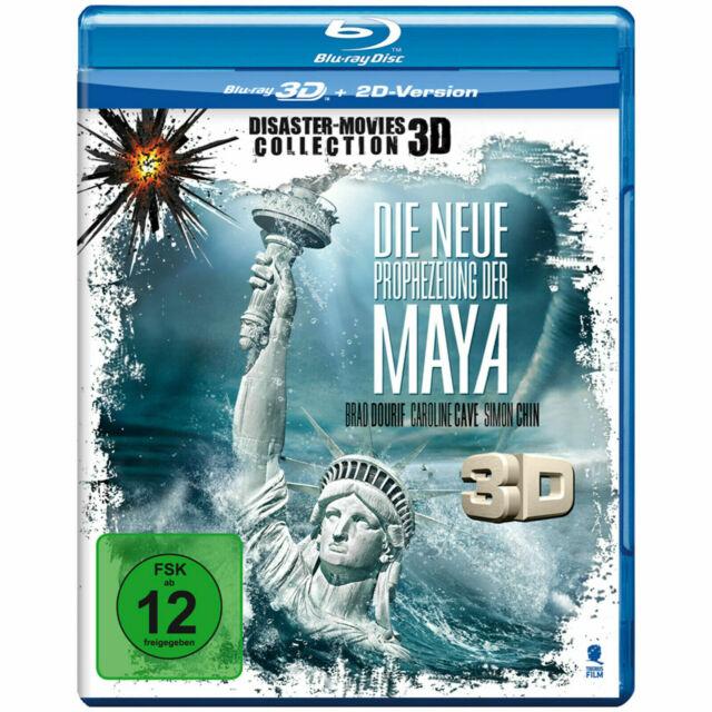 DVD Blu-ray 3D Die neue Prophezeiung der Maya NEUWertig
