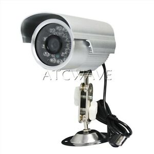 home outdoor waterproof cctv security camera night vision. Black Bedroom Furniture Sets. Home Design Ideas