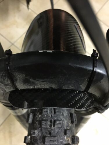 CARBON FENDER MADE IN IYALY Parafanghi In Carbonio Flessibile Per MTB /& E-BIKe