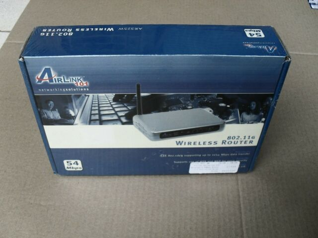 802.11G AR325W Airlink Wireless Router Computers & Accessories ...
