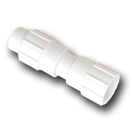 Dawn kwikrepair Acoplamiento de reparación de PVC blancoo 1200kPa  Hechos en E. U. - 32mm, 40mm o 50mm